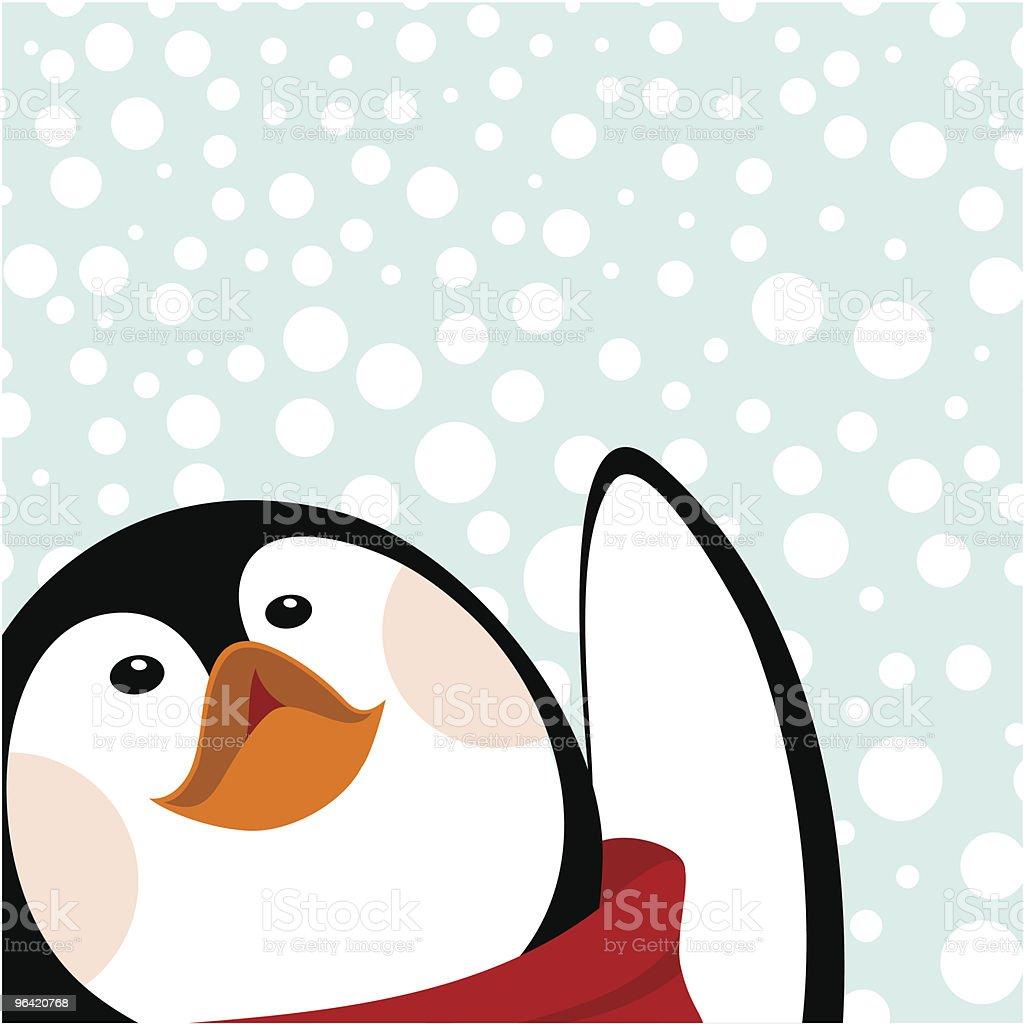 Let it snow !!! vector art illustration
