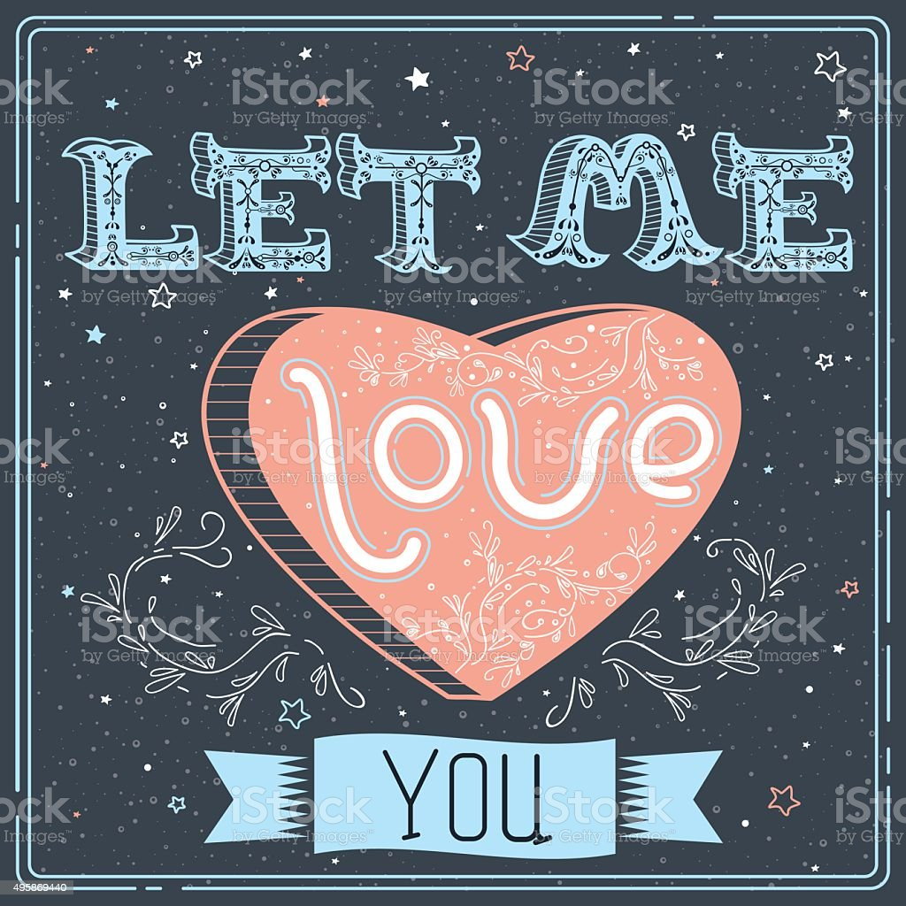 Download Lagu Justin Bieber Let Me Love You: Let Me Love You Stock Vector Art & More Images Of 1970