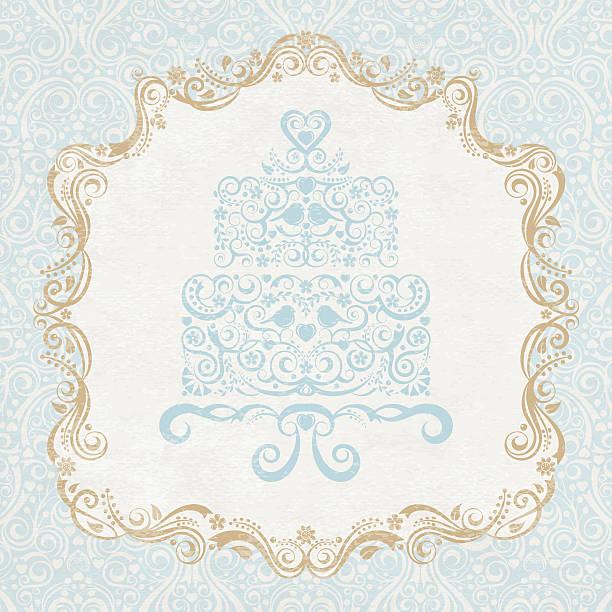 ケーキをお届けします。 - ロココ調点のイラスト素材/クリップアート素材/マンガ素材/アイコン素材