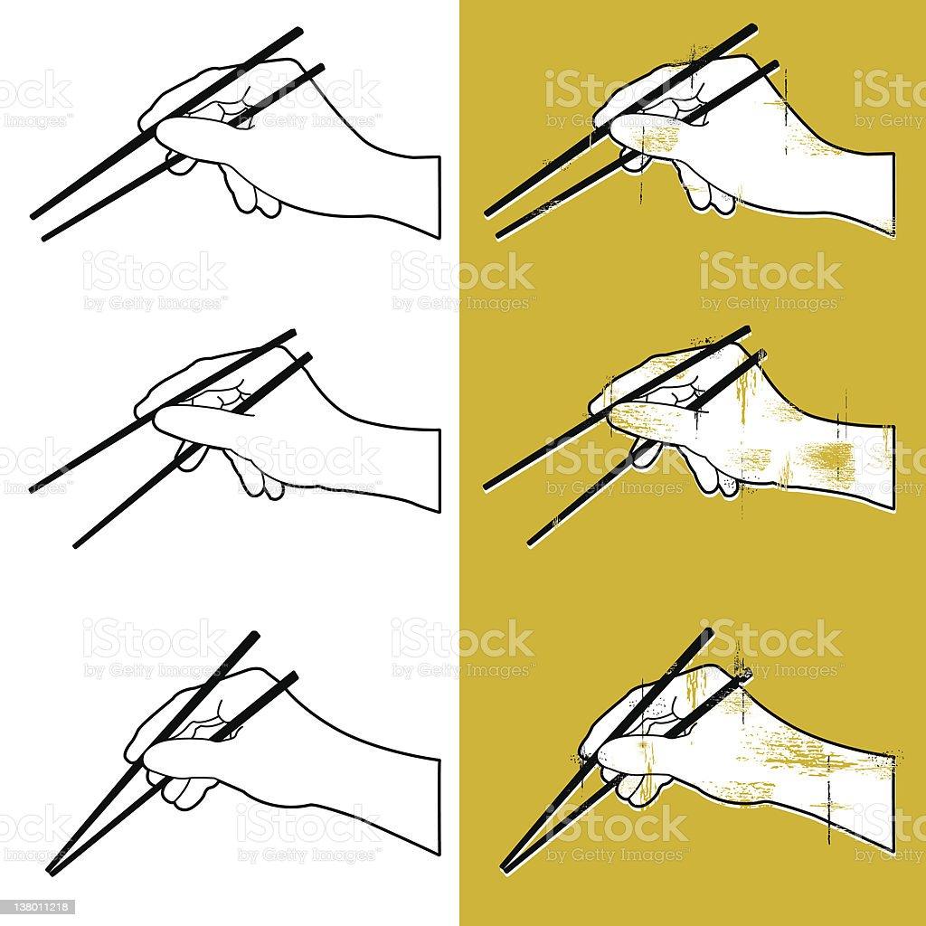 Let's Chop Suey! vector art illustration