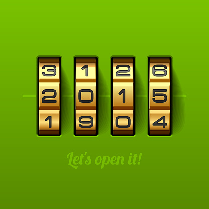 Let`s open new 2015 year card