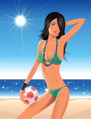 Let's play on the Beach