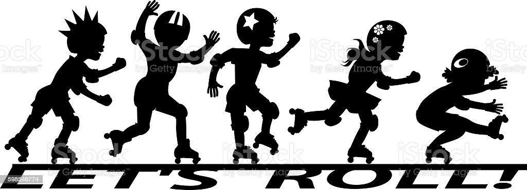 let's roll! lets roll – cliparts vectoriels et plus d'images de activité libre de droits
