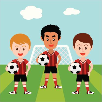 Let's soccer!