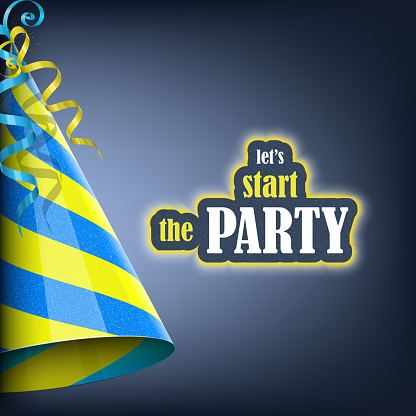 Let's Start the Party, Holiday Banner.