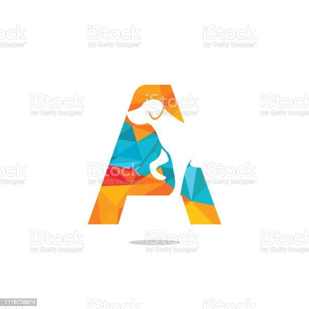 Letter a and dog head vector logo design vector id1178726974?b=1&k=6&m=1178726974&s=612x612&h=va8bybeqadyrhtcbdjkv ldewdvxugr6zzq 8debk6s=