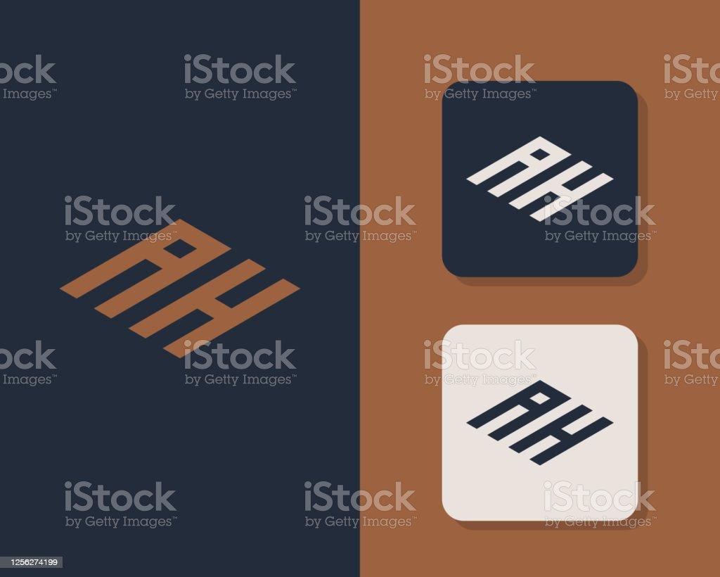 Letter A H Logo Design Creative Minimal Monochrome Monogram Symbol Universal Elegant Vector Emblem Premium Business Logotype Graphic Alphabet Symbol For Corporate Identity Stock Illustration Download Image Now Istock