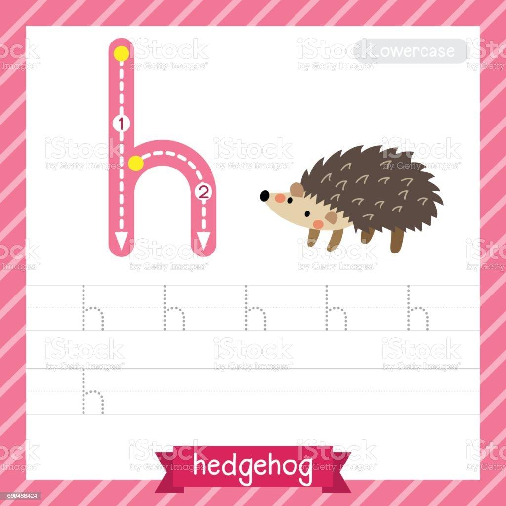 Ein Kleines Alpaka Tier Ablaufverfolgung Arbeitsblatt Schreiben ...