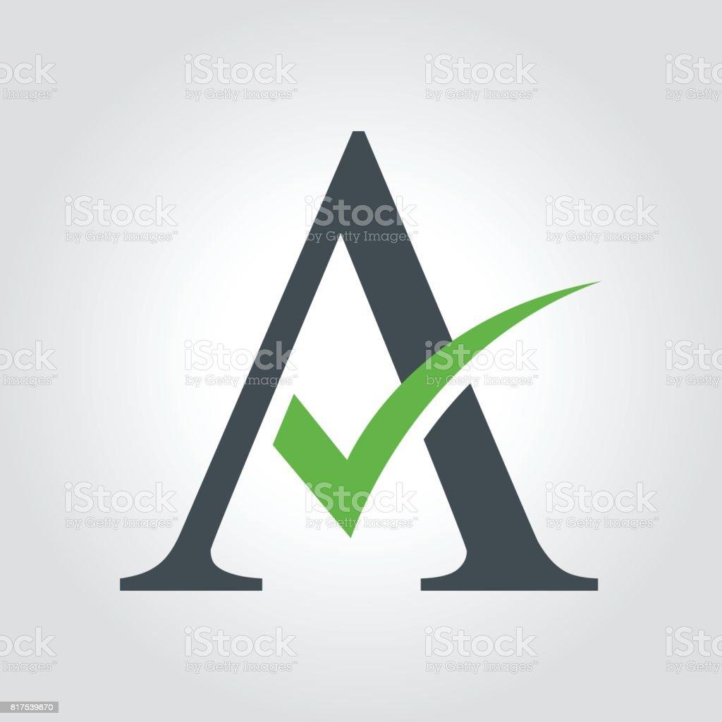 royalty free tick logo clip art vector images illustrations istock rh istockphoto com check mark logo answer checkmark logistics