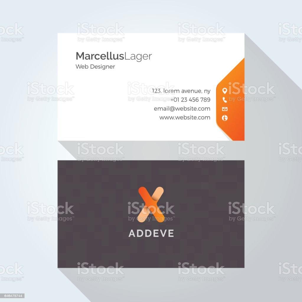 X Le Modele De Conception Lettre Alphabet Logo Carte Visite Entreprise