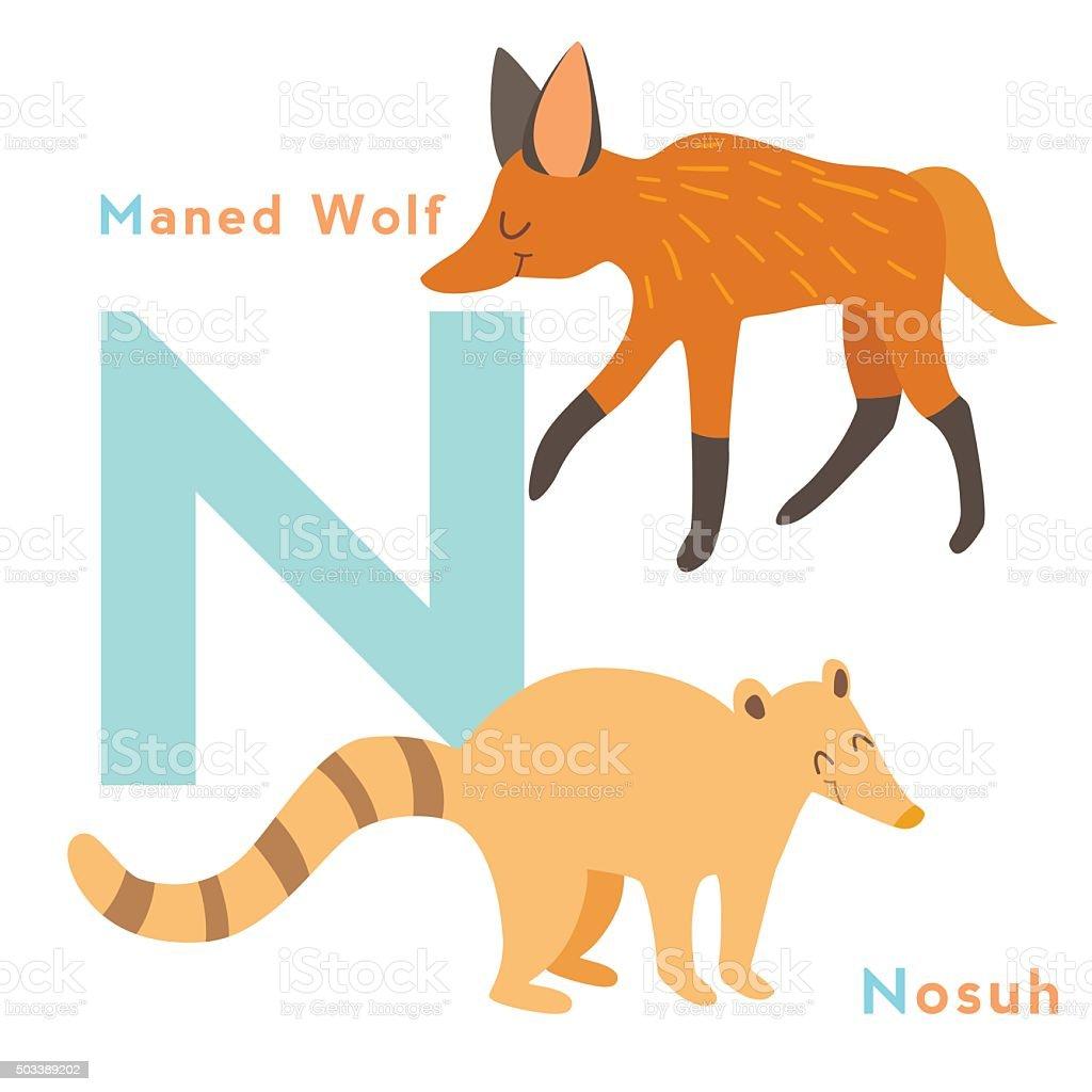 Image of: Zoo Letter Animals Set English Alphabet Vector Illustration Illustration Istock Letter Animals Set English Alphabet Vector Illustration Stock