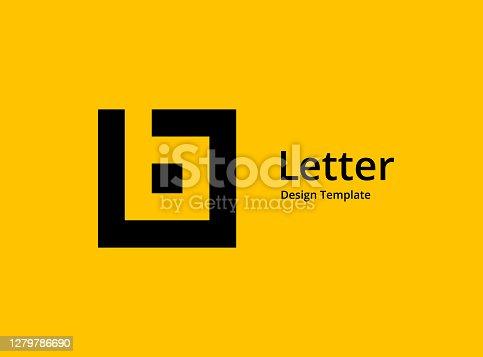 istock Letter B icon 1279786690