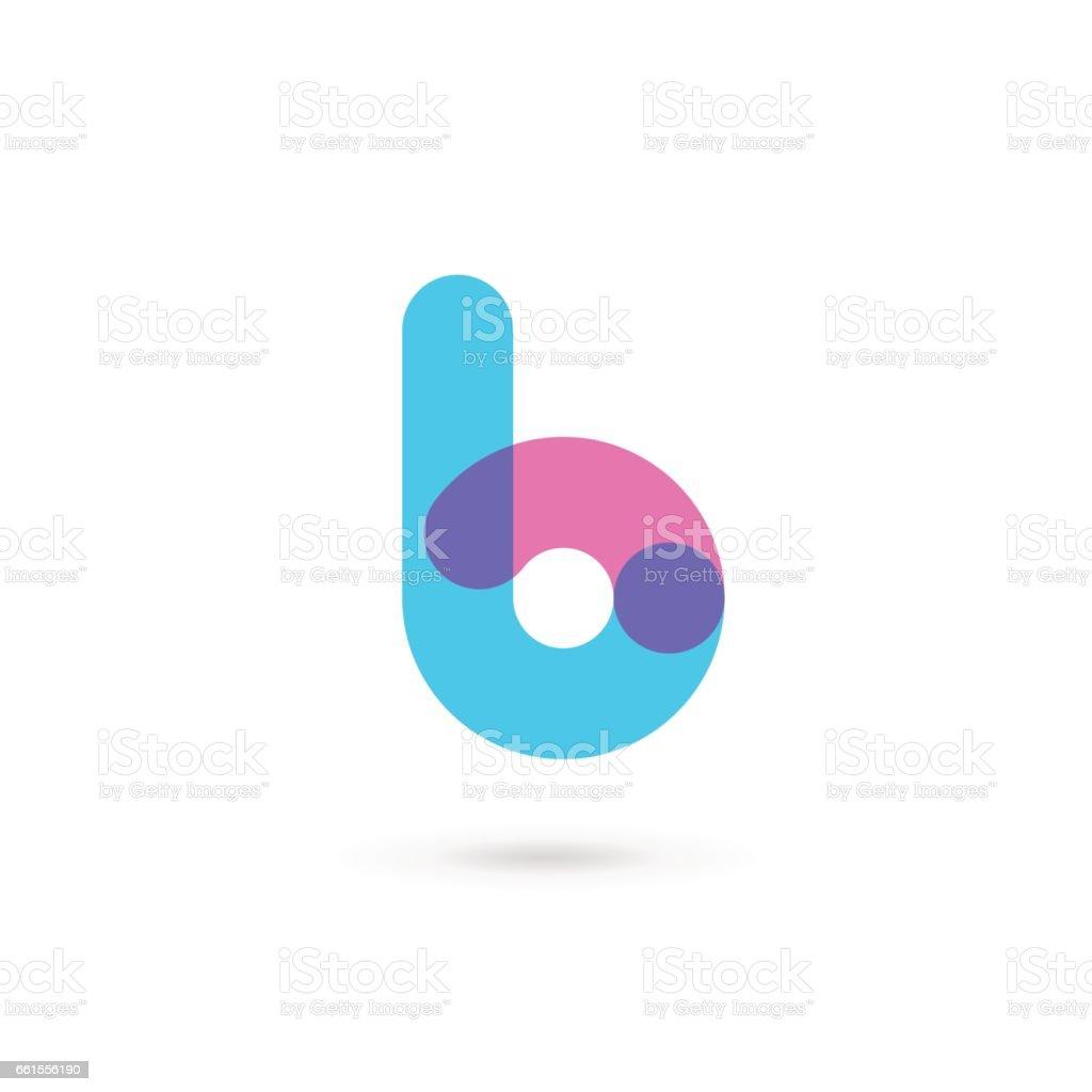 Buchstabe B-Symbol – Vektorgrafik