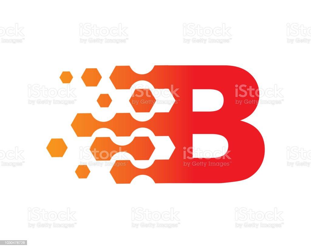 letter b template design vector emblem concept design creative symbol icon royalty