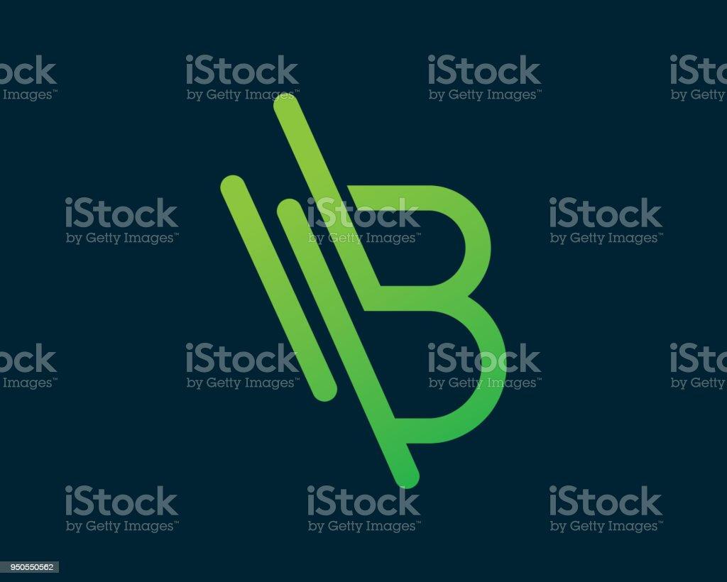 Buchstabe B Vorlage Design Vektor, Symbol, Design Konzept, kreative Symbol, Symbol – Vektorgrafik