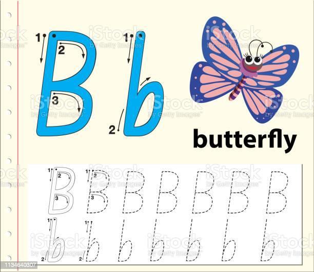 Letter b tracing alphabet worksheets vector id1134640307?b=1&k=6&m=1134640307&s=612x612&h=onsifgeknlesj3iurr6ga2vwvh4wy6 egtswzogvdza=