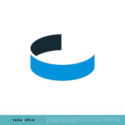 Letter C Icon Vector Logo Template Illustration Design. Vector EPS 10.