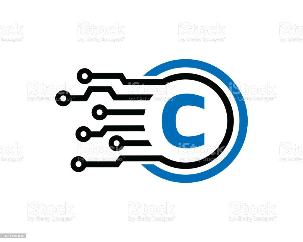 Letter C Symbol Template Design Vector Emblem Design Concept