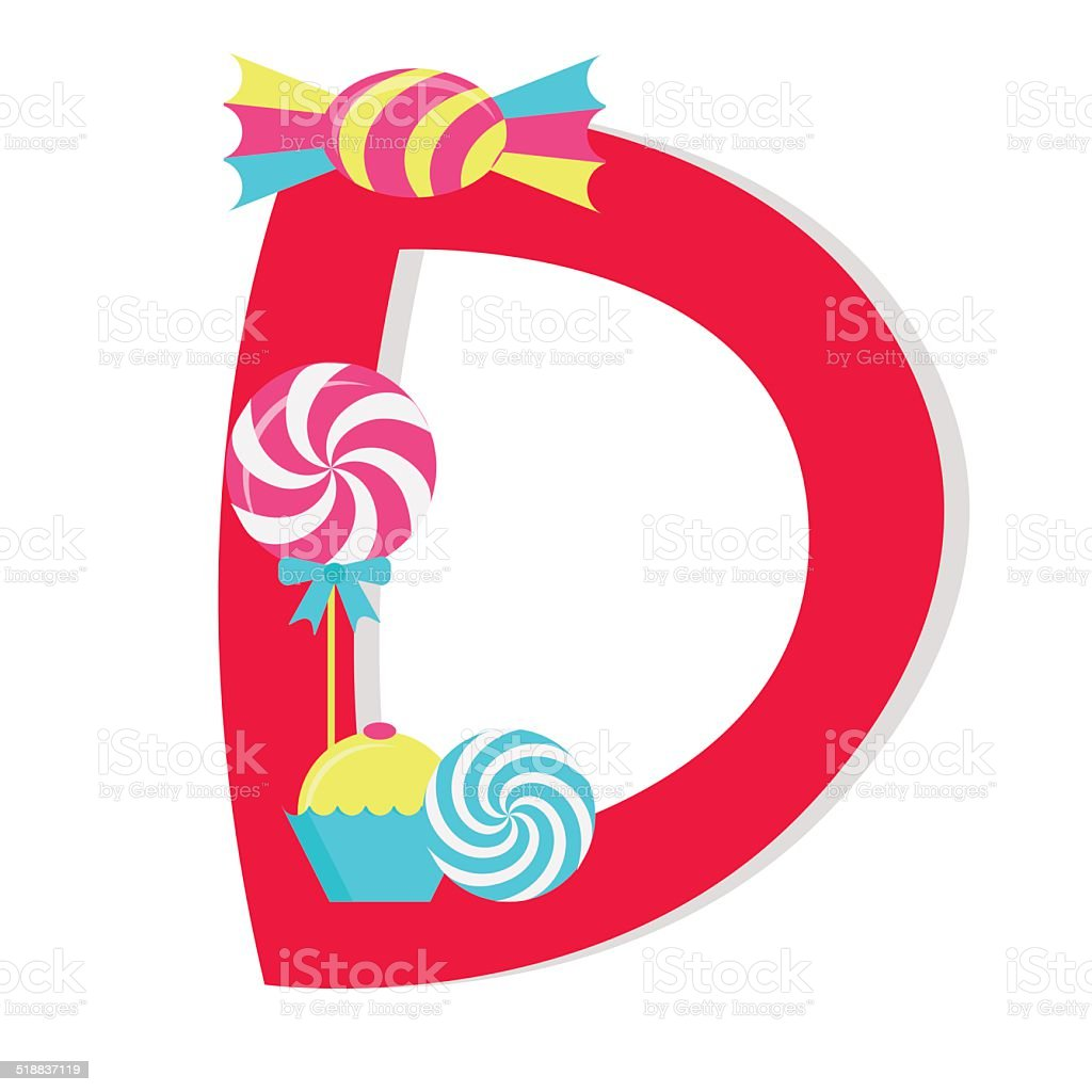 Letter d from stylized alphabet with candies stock vector art more letter d from stylized alphabet with candies royalty free letter d from stylized thecheapjerseys Choice Image