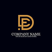 Letter DE Monogram Logo Inspiration, great for logo Marks, Clean and clever logo templates, initial logo designs