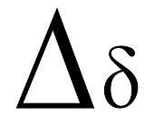 Letter Delta