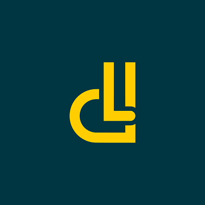 Letter Dl Icon Logo Vector With D And L Stock Illustration Download Image Now Istock