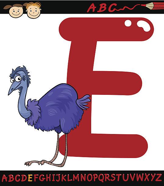 illustrations, cliparts, dessins animés et icônes de lettre e pour l'uem cartoon illustration - enseignant(e) en maternelle