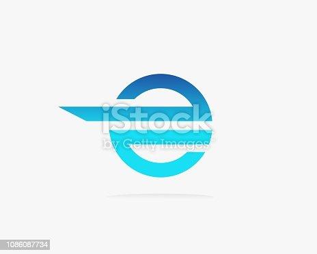 Letter E icon alphabet symbol.
