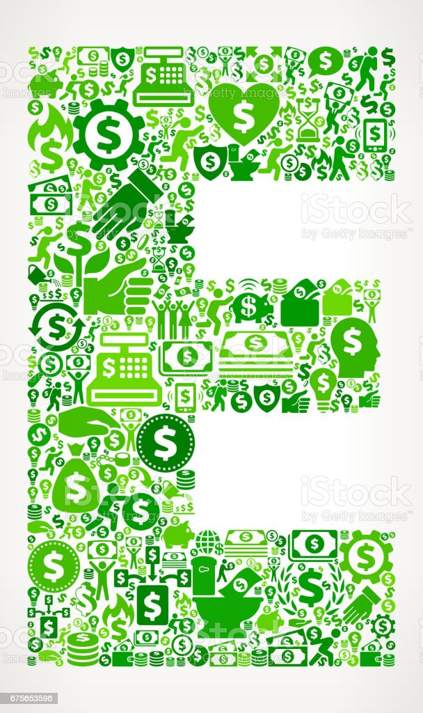 Letter E Money and Finance Green Vector Icon Background royalty-free letter e money and finance green vector icon background stock vector art & more images of abundance