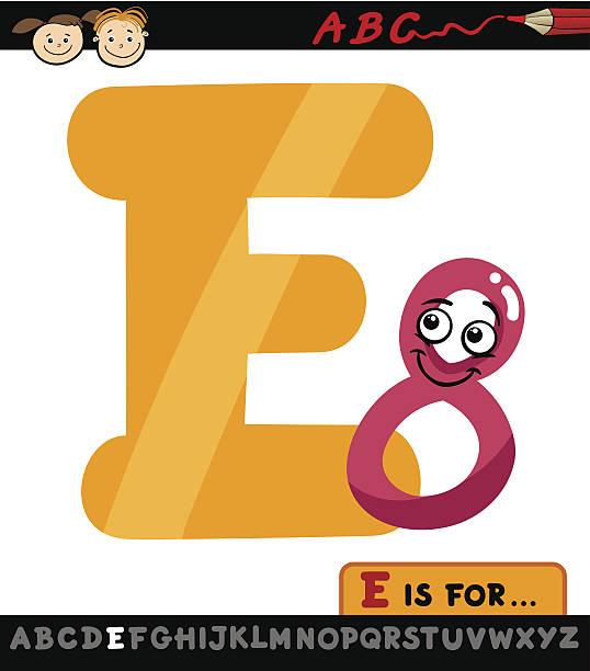illustrations, cliparts, dessins animés et icônes de lettre e avec huit cartoon illustration - enseignant(e) en maternelle