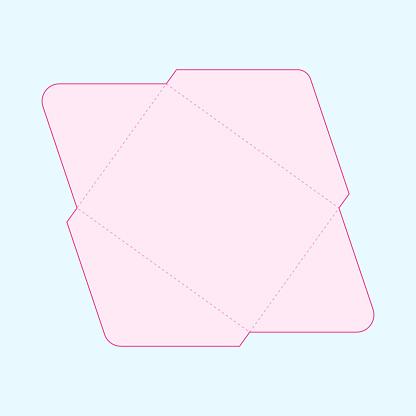 US letter envelope template