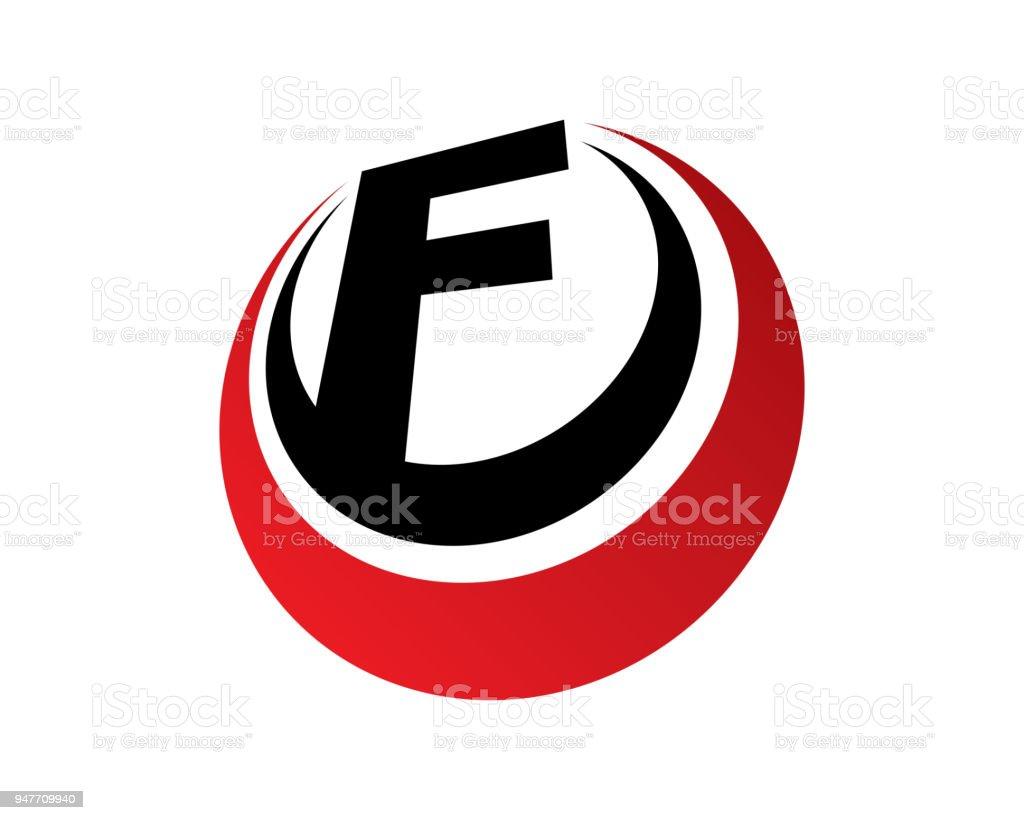 letter f template design vector emblem design concept creative