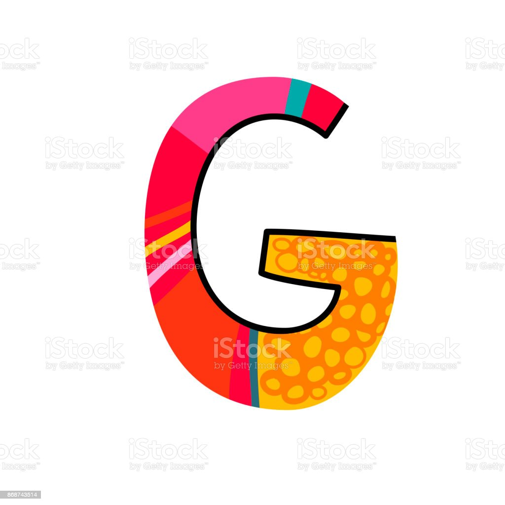 royalty free cartoon of the fancy letter g clip art vector images rh istockphoto com clipart of letter g small letter g clipart