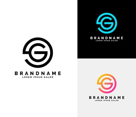 Letter G Logo set.