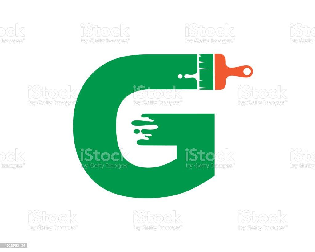 letter g symbol design template stock vector art more images of