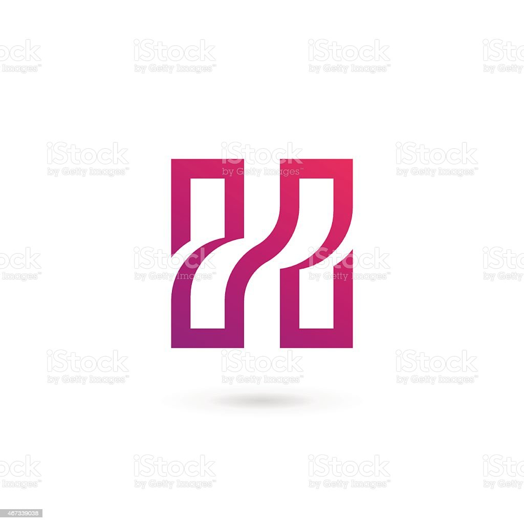 Letter H Icon Stock Vector Art & More Images of 2015 467339038 | iStock
