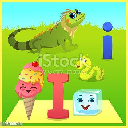 istock letter i for kids learning 1262598745
