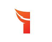 Letter I Template Design Vector, Emblem, Design Concept, Icon, Symbol