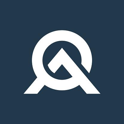 AO Letter icon Design Creative Modern Trendy Typography.