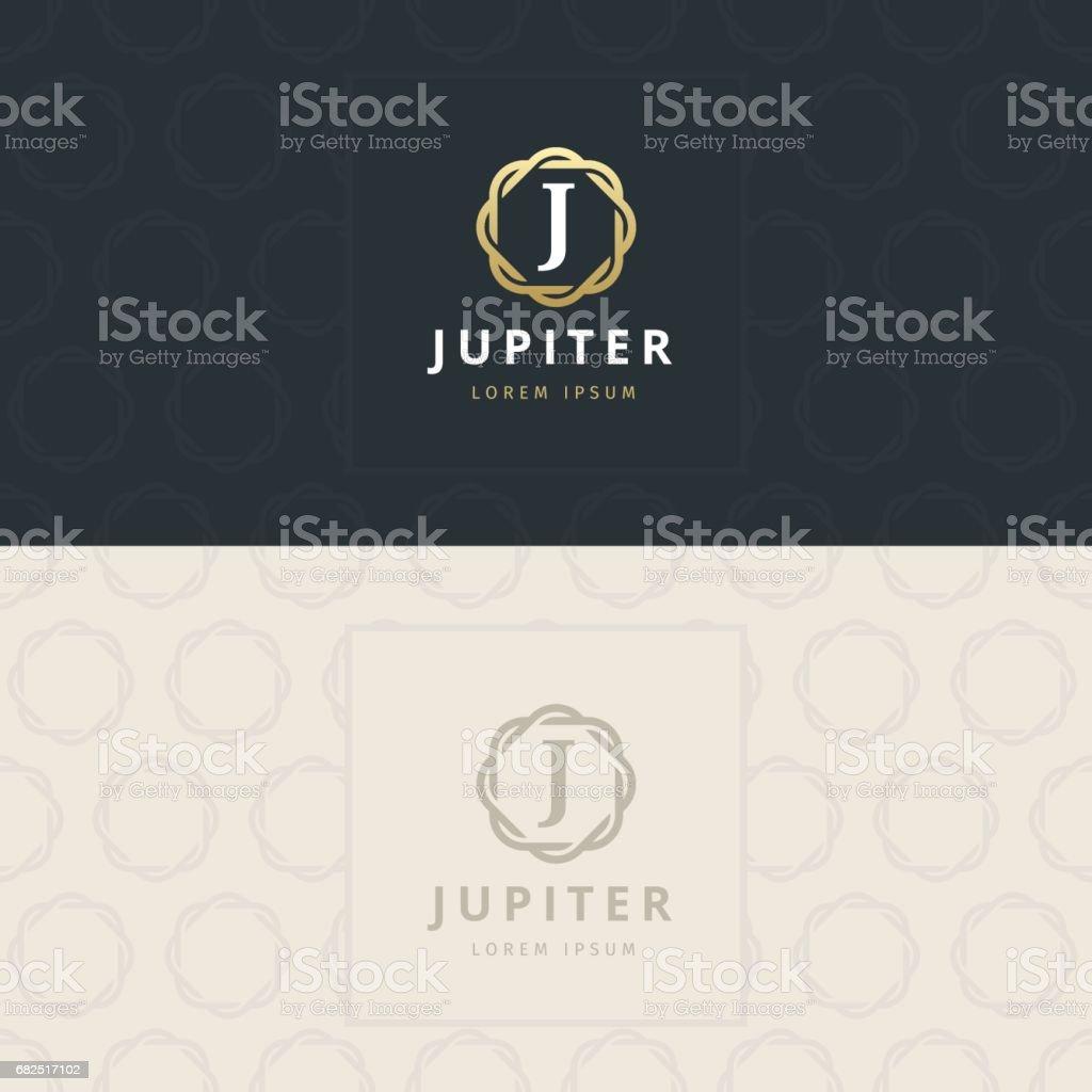 J Letter icon, Icon with pattern. vector element j letter icon icon with pattern vector element - immagini vettoriali stock e altre immagini di affari royalty-free