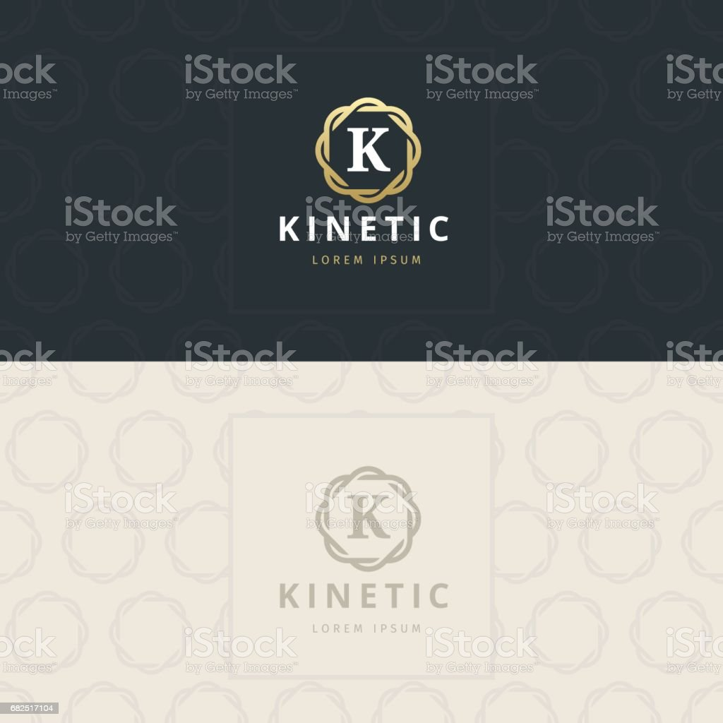 K letterpictogram, pictogram met patroon. vectorelement royalty free k letterpictogram pictogram met patroon vectorelement stockvectorkunst en meer beelden van abstract
