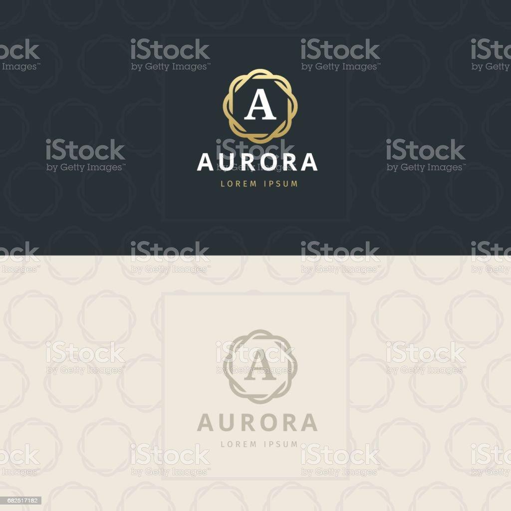 Bir mektup simge, simge desenli. vektör öğesi royalty-free bir mektup simge simge desenli vektör öğesi stok vektör sanatı & a harfi'nin daha fazla görseli
