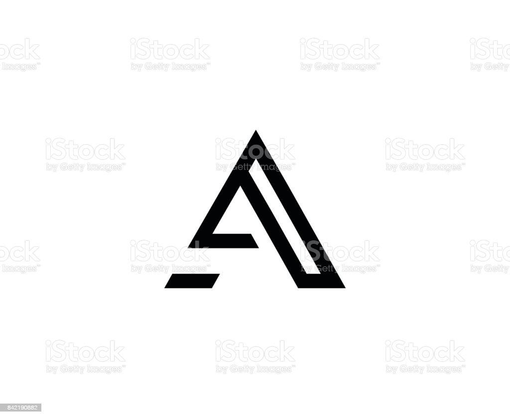 Bir mektup simgesi vektör sanat illüstrasyonu