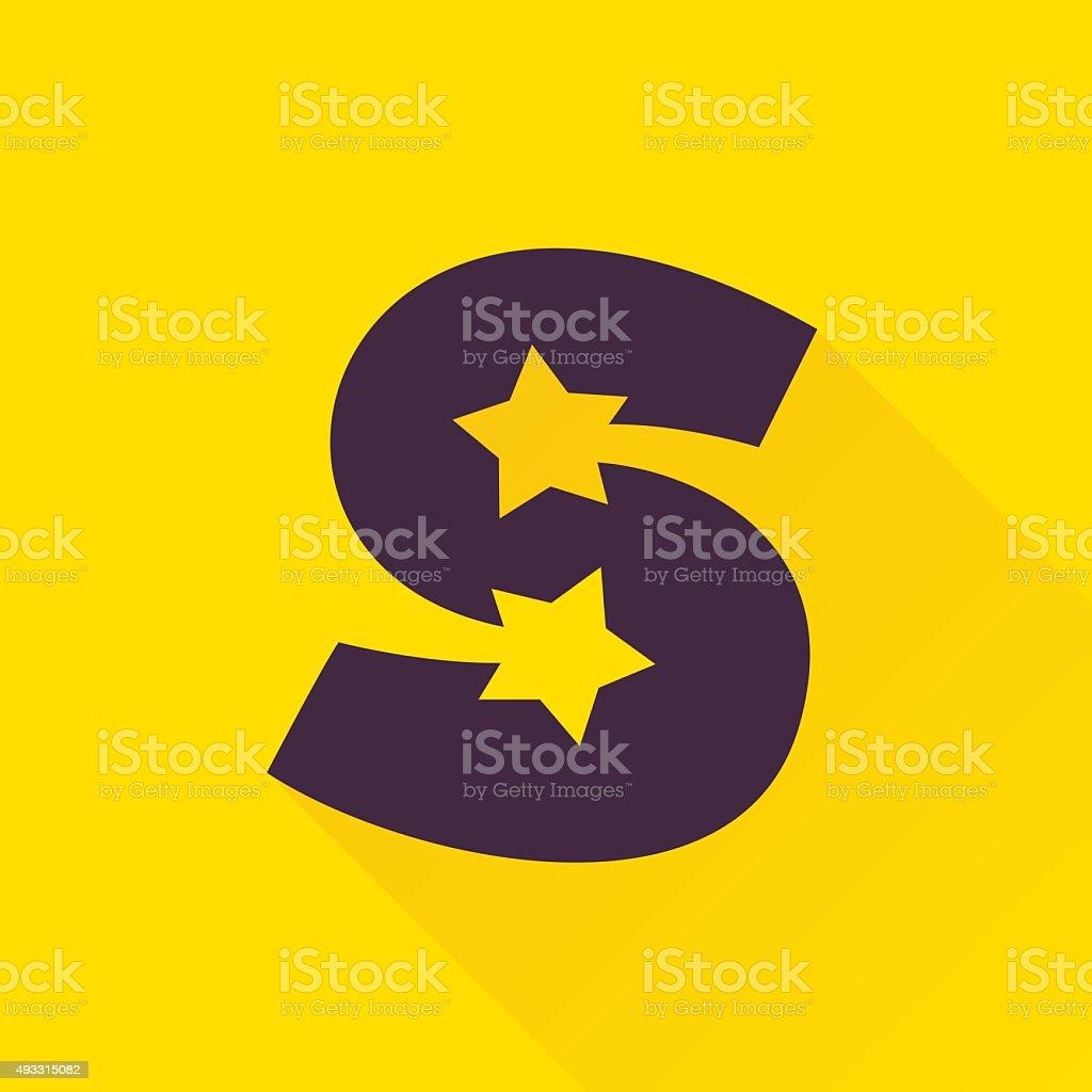 8417b1443 Carta do ícone de estrela. vetor de carta do ícone de estrela e mais banco