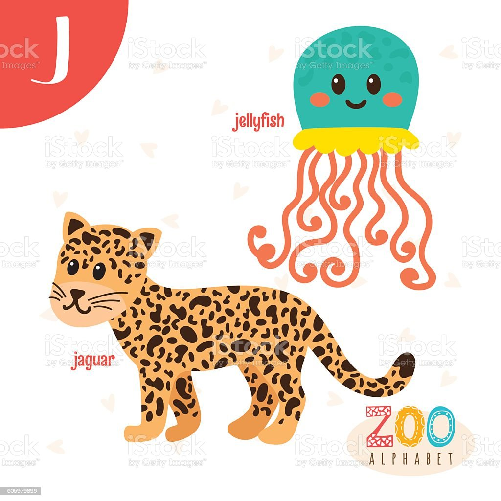animals that start with the letter j letter j animals animals in vector 20458 | letter j cute animals funny cartoon animals in vector vector id605979896