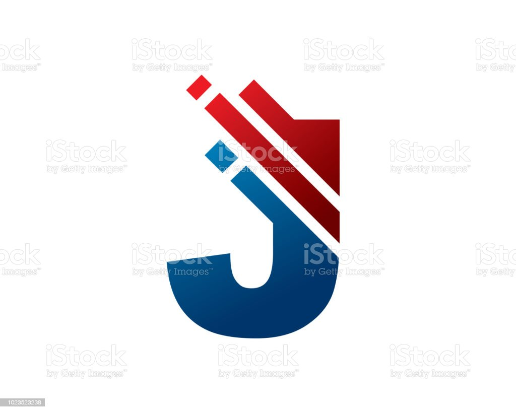 letter j symbol design template royalty free letter j symbol design template stock vector art