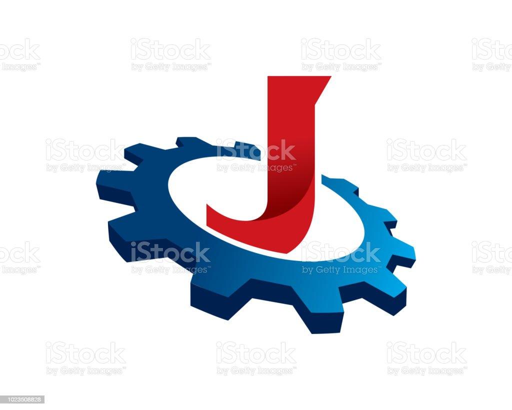 letter j template design vector emblem concept design creative symbol icon royalty