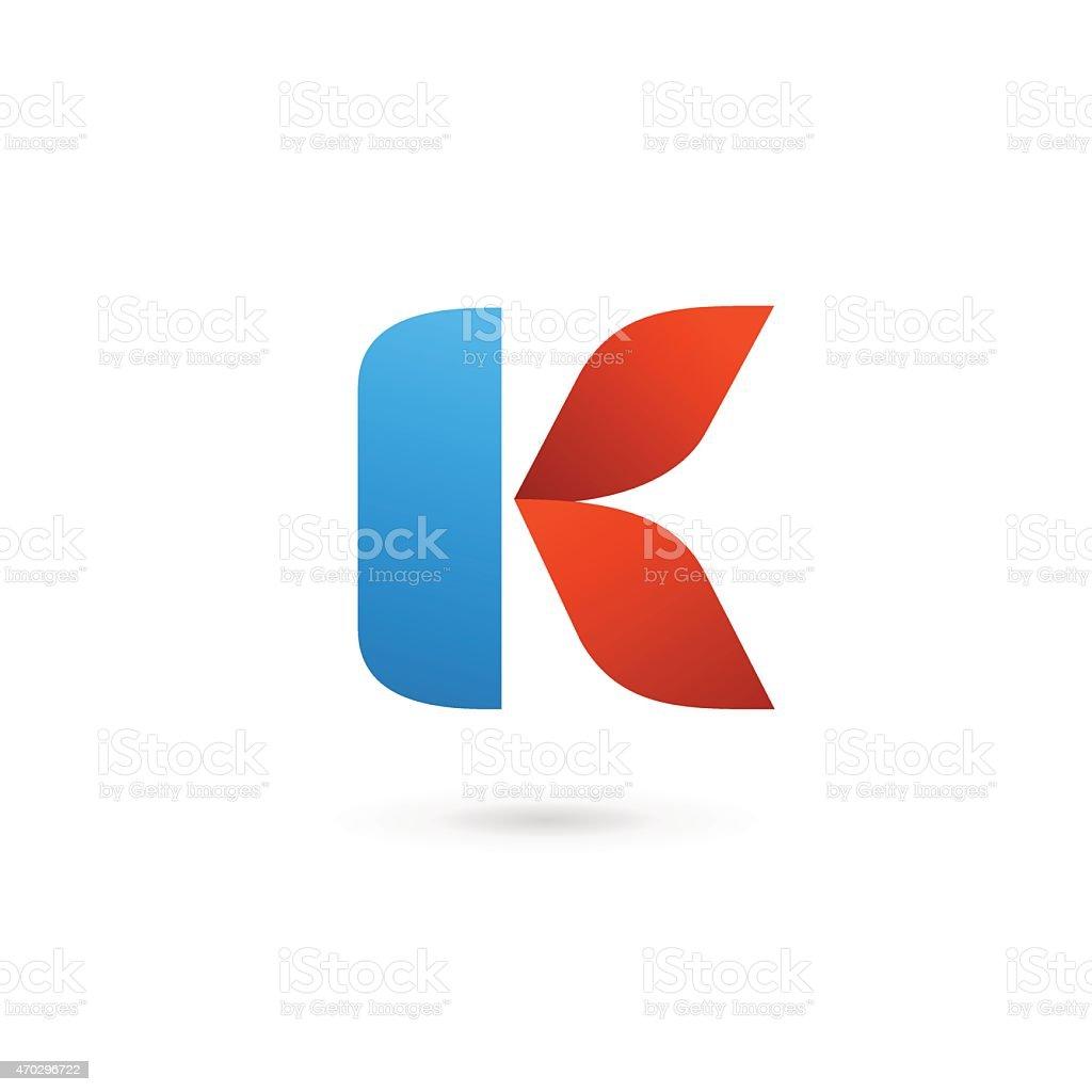 レター k アイコンテンプレートデザイン要素 2015年のベクターアート