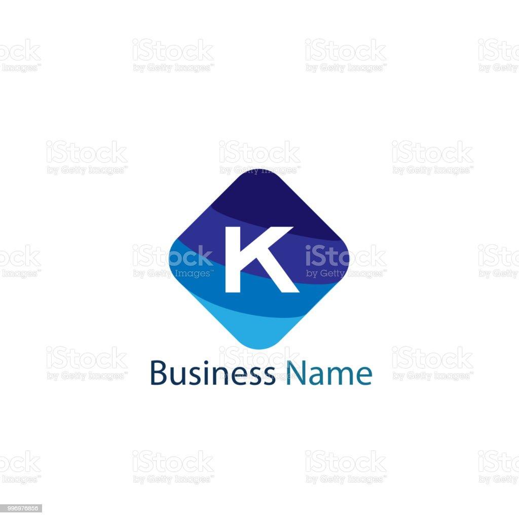 letter k logo template royalty free letter k logo template stock vector art