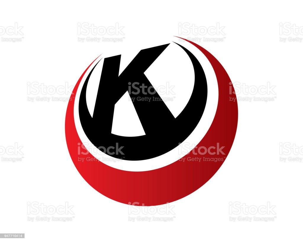 letter k template design vector emblem design concept creative symbol icon royalty
